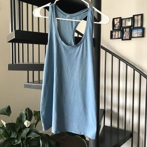 Blue lululemon top